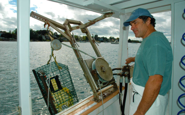 Fish'n Tales Adventures, lobstering, fishing, lobstering trips, fishing trips, Newport RI